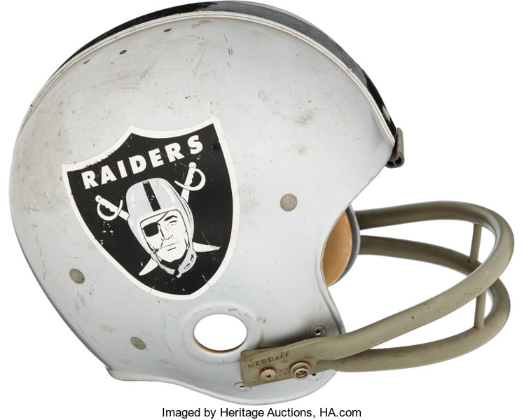 db2c2a94ad5 Late 1960 s Oakland Raiders Game Worn Helmet.. ... Football