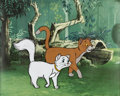 Animation Art:Production Cel, The Aristocats Thomas O'Malley and Duchess Production Cel(Walt Disney, 1970)....