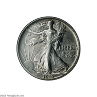1916 50C Walking Liberty Half Dollar, Judd-1992, formerly Judd-1797, Pollock-2053, Low R.7, PR65 NGC. A significant 20th...
