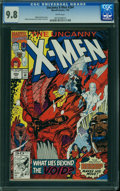 Modern Age (1980-Present):Superhero, Uncanny X-Men #284 (Marvel, 1992) CGC NM/MT 9.8 WHITE pages.