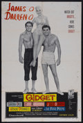 "Movie Posters:Cult Classic, Gidget (Columbia, 1959). One Sheet (27"" X 41""). Comedy. StarringSandra Dee, James Darren, Cliff Robertson and Arthur O'Conn..."