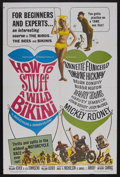 """Movie Posters:Comedy, How to Stuff a Wild Bikini (AIP, 1965). One Sheet (27"""" X 41""""). Comedy. Starring Annette Funicello, Dwayne Hickman, Brian Don..."""