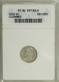 Bust Dimes: , 1834 10C Small 4--Cleaned--ANACS. XF40 Details. NGC Census:(13/211). PCGS Population (4/154). Mintage: 635,000. Numismedia...