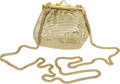 Movie/TV Memorabilia:Memorabilia, Audrey Hepburn Owned and Used Gold Mesh Purse. Once owned by AudreyHepburn, this stunning gold mesh bag is an original by W...