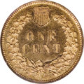 Proof Indian Cents: , 1877 1C PR65 Red Cameo NGC. A splendid Gem proof, this cent exhibits lovely cameo contrast with lustrous devices and deeply...