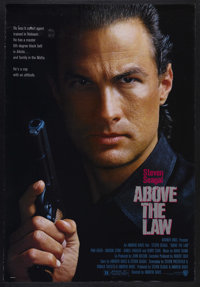 "Above the Law (Warner Brothers, 1988). One Sheet (27"" X 41""). Action. Starring Steven Seagal, Pam Grier, Henry..."