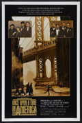 "Movie Posters:Crime, Once Upon a Time in America (Warner Brothers, 1984). One Sheet (27""X 41"") and Program Book (Multiple Pages). Crime. Starrin... (Total:2 Item)"