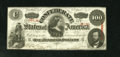 Confederate Notes:1863 Issues, T56 $100 1863. Bright paper and edges free of blemishes sets this Extremely Fine+ $50 apart from many of its Criswell nu...