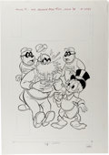 Original Comic Art:Covers, Beagle Boys #43 Cover Original Art (Gold Key, 1978)....
