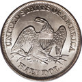 """Seated Half Dollars: , 1856 50C MS65 PCGS. Despite a respectably high mintage of 938,000pieces, this issue is """"Rare in mint state,"""" according to ..."""