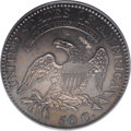 Bust Half Dollars: , 1818 50C MS60 PCGS. O-113, R.3. The date is spaced 1 81 8 on thisdie pairing, and star 1 shows prominent recutting, with t...