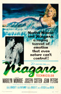 "Movie Posters:Film Noir, Niagara (20th Century Fox, 1953). One Sheet (27"" X..."