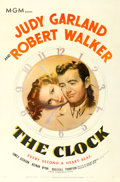 "Movie Posters:Romance, The Clock (MGM, 1945). One Sheet (27"" X 41"").. ..."