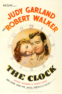 "The Clock (MGM, 1945). One Sheet (27"" X 41"")"