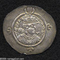 Ancients:Greek, Ancients: Sasanian Kingdom. Ardashir III. A.D. 628-630. AR drachm(31 mm, 4.16 g). NB (uncertain mint), year 2 (A.D. 629). Crownedbus...