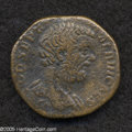 Ancients:Roman, Ancients: Clodius Albinus. A.D. 195-197. AE sestertius (30 mm,21.58 g). Rome, as Caesar, A.D. 193-194. Bare head right /Concordia se...