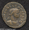 Ancients:Roman, Ancients: Aurelian. A.D. 270-275. AE as (24 mm, 6.99 g). Rome, A.D.274. Laureate and cuirassed bust right / Aurelian and Severinacla...