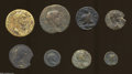 Ancients:Roman, Ancients: Lot of eight miscellaneous Roman Provincial AE. Includes:Thrace, Perinthus. Nerva // Mysia, Adramyteum. Claudius II //Mysi... (Total: 8 coins Item)