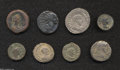 Ancients:Roman, Ancients: Lot of eight Roman Provincial coins. Includes(tetradrachms unless otherwise noted): Syria, Antioch. Philip I //Arabia, Bos... (Total: 8 coins Item)