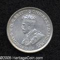 Australia: , Australia: George V Threepence 1934/3, KM24, nearly XF, lightlycleaned but with an extremely clear overdate. Scarce....