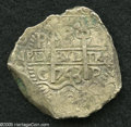 Bolivia: , Bolivia: Felipe V 8 Reales 1743-C, KM31a, choice VF+, great obverse strike with incredibly clear date, mint and assayer. The reverse ...