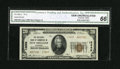 National Bank Notes:Louisiana, New Orleans, LA - $20 1929 Ty. 2 The NB of Commerce Ch. # 13689. ...