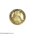 Colombia: , Colombia: Ferdinand VII gold 8 Escudos 1813-P-JF, KM66.2, choiceXF+ with an incredibly bold strike and problem-free surfaces, apremi...