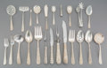Silver & Vertu:Flatware, A One Hundred Fifty-Nine Piece S. Kirk & Son Repoussé Pattern Silver Flatware Group, Baltimore, Maryland, design...