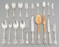 Silver & Vertu:Flatware, A Ninety-Piece Reed & Barton Francis I Pattern Silver Flatware Service for Eight, Taunton, Massachusetts, design... (Total: 90 Items)