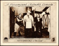 "Movie Posters:Comedy, The Cook (Paramount, 1918). Lobby Card (11"" X 14"")..."