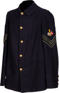 Military & Patriotic:Indian Wars, 1885 Signal Corps 5-Button Tunic....