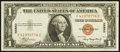 Small Size:World War II Emergency Notes, Fr. 2300 $1 1935A Hawaii Silver Certificate. Scarce F-C Block. About Uncirculated.. ...