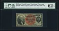 Fractional Currency:Fourth Issue, Fr. 1307 25¢ Fourth Issue PMG Uncirculated 62 EPQ.. ...