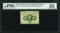Fractional Currency:First Issue, Fr. 1241 10¢ First Issue PMG About Uncirculated 55.. ...