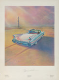 """Fine Art - Work on Paper:Print, A Group of Seven Exhibition Posters and A Print Titled """"Sammie"""" (eight works). circa 1980's. 34 x 18 inches (86.4 x 45.7 cm)... (Total: 8 Items)"""