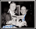 Autographs:Photos, Yogi Berra and Mickey Mantle Multi Signed Photograph Lot of 2.. ...