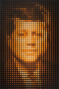 Prints & Multiples, Yvaral (Jean-Pierre Vasarely) (1934-2002). John F. Kennedy, c. 1979. Serigraph in colors on wove paper. 41 x 28 inches (...