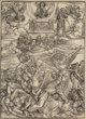 Attributed to Albrecht Dürer (1471-1528) The Four Avenging Angels of Euphrates, from The Apocalypse, circa 1497 Wo...