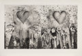 Fine Art - Work on Paper:Print, Jim Dine (b. 1935). Tools and Dreams, 1985. Drypoint and Aquatint on BFK Rives paper. 23-1/2 x 39 inches (59.7 x 99.1 cm...