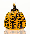 Fine Art - Sculpture, American:Contemporary (1950 to present), Yayoi Kusama (Japanese, b. 1929). Pumpkin (Yellow), 2013.Painted cast resin. 4 x 3-1/4 x 3-1/4 inches (10.2 x 8.3 x 8.3...