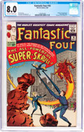 Silver Age (1956-1969):Superhero, Fantastic Four #18 (Marvel, 1963) CGC VF 8.0 Off-white to white pages....