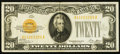 Small Size, Fr. 2402 $20 1928 Gold Certificate. Very Fine-Extremely Fine.. ...