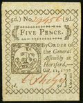 Colonial Notes:Connecticut, Connecticut October 11, 1777 5d Slash Cancel Very Fine.. ...
