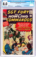 Silver Age (1956-1969):War, Sgt. Fury and His Howling Commandos #4 (Marvel, 1963) CGC VF 8.0 Off-white pages....