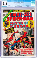 Bronze Age (1970-1979):Superhero, Giant-Size Spider-Man #2 (Marvel, 1974) CGC NM+ 9.6 Off-white to white pages....