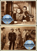 "Movie Posters:Academy Award Winners, Casablanca (Warner Brothers, R-1953). Italian Photobustas (3)(13.5"" X 19.25"").. ... (Total: 3 Items)"
