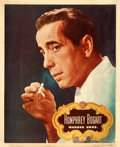 """Movie Posters:Miscellaneous, Humphrey Bogart Personality Poster (Warner Brothers, 1948). LinenFinish Poster (14"""" X 17"""").. ..."""