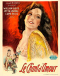 "Movie Posters:Drama, Lady of the Pavements (United Artists, 1929). Trimmed Pre-War Belgian (24.25"" X 30.75"").. ..."