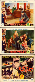 Movie Posters:Serial, Dick Tracy (Republic, 1937). Title Lobby Card & Lo...