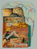 Works on Paper, Dwight Owsley (American, 20th/21st Century). Sgt. Easy to the Rescue, 2016. Mixed media with collage in colors on paper...